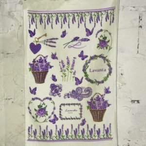 Кухонное полотенце Melih Lavender Festive 40×60