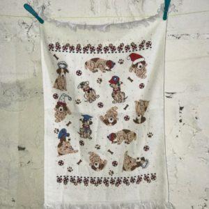 купить Кухонное полотенце Melih Small Dogs Коричневый фото