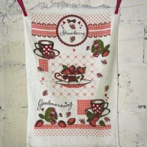 Кухонное полотенце Melih Strawberry 40×60