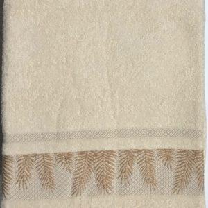 Махровая простынь Пике Sikel Cotton молочный 200×220