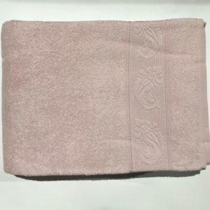 купить Махровая простынь Пике Sikel Cotton Розовый фото