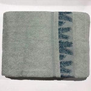 купить Махровая простынь Пике Sikel Cotton mint Серый фото