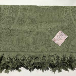 купить Махровая простынь Пике Sikel Hitit yesil Зеленый фото