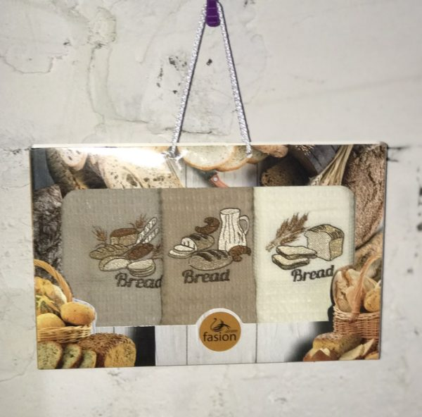 купить Набор кухонных полотенец Swan Fasion Bread V01  фото
