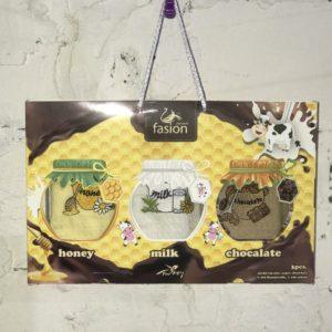 Набор кухонных полотенец Swan Fasion Honey Milk Chocalate V01 40×60