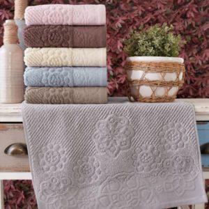 купить Набор махровых полотенец Sikel жаккард Albedo 6 шт  фото