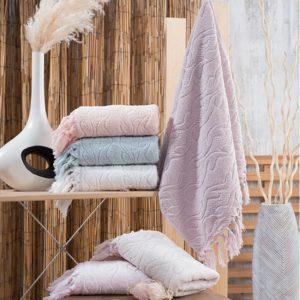купить Набор махровых полотенец Sikel жаккард Marina 6 шт  фото