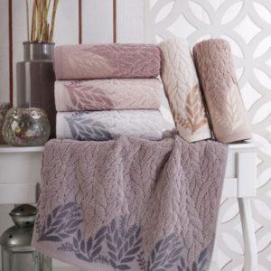 купить Набор махровых полотенец Sikel жаккард Melenema 6 шт  фото
