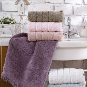 Набор махровых полотенец Sikel жаккард Miama Lux 6 шт