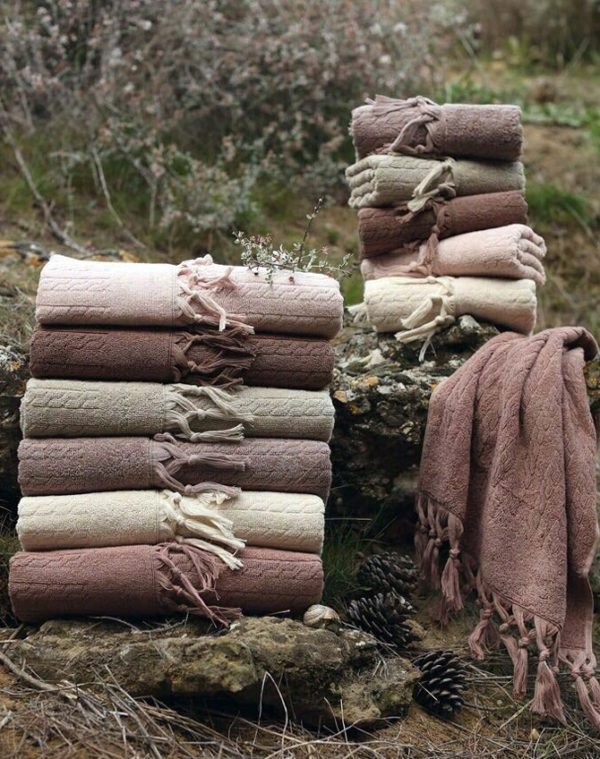 купить Набор махровых полотенец Sikel жаккард Sezak 6 шт  фото