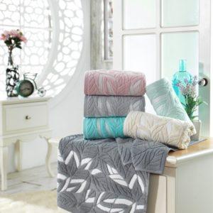 купить Набор махровых полотенец Sikel жаккард Zambak 6 шт  фото