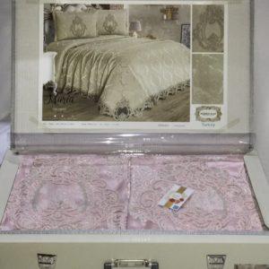 купить Покрывало с наволочками Kubra Class Marie pink Розовый фото