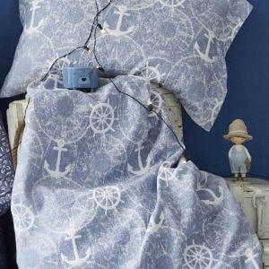 Покрывало Karaca Home-Sandes 2019-2 mavi 160×220