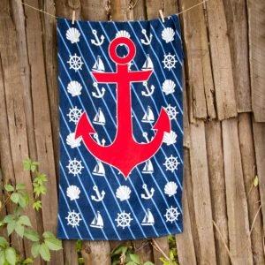 Полотенце пляжное Vende велюр Sea Adventure 75×150