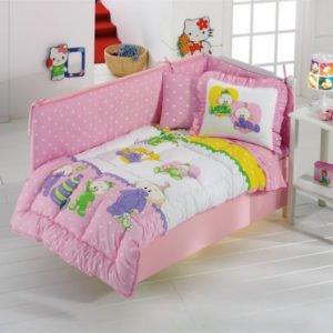 купить Постельное белье для младенцев Kristal Baby Bebis Розовый фото