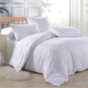 Постельное белье Damla ранфорс Hotel white
