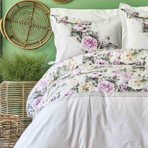 Постельное белье Karaca Home ранфорс Elsa pembe 2020-1 200×220