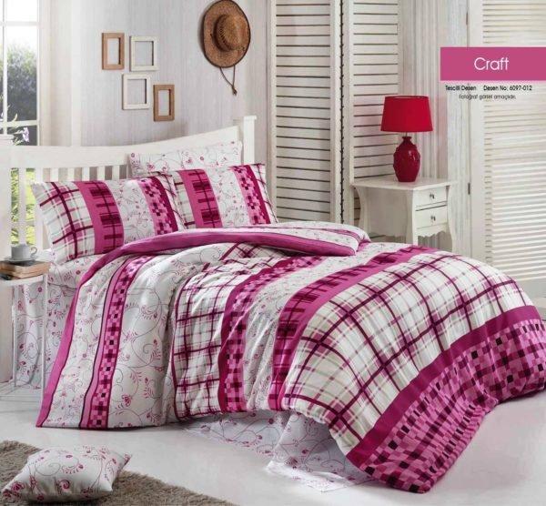 купить Постельное белье Linda ранфорс 6097-012 Розовый фото