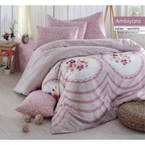 купить Постельное белье Linda ранфорс 9079-07 Розовый фото