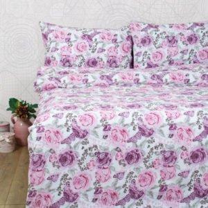 купить Постельное белье Lotus Ranforce Dora Розовый фото