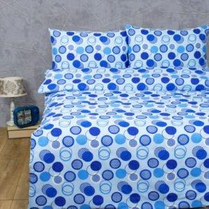 купить Постельное белье Lotus Ranforce Erin Голубой Голубой фото