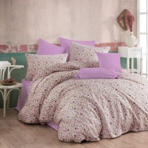купить Постельное белье Majoli Iris v3 Лиловый фото