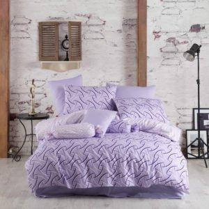 Постельное белье Majoli Magic Lilac 200×220