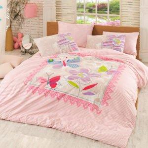 Постельное белье Majoli Trendy v2 Pink 200×220