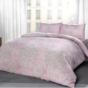 купить Постельное белье TAC ранфорс Mirabel pembe v03 Розовый фото