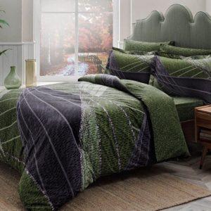 Постельное белье TAC Borneo Green 160×220 (2 шт)