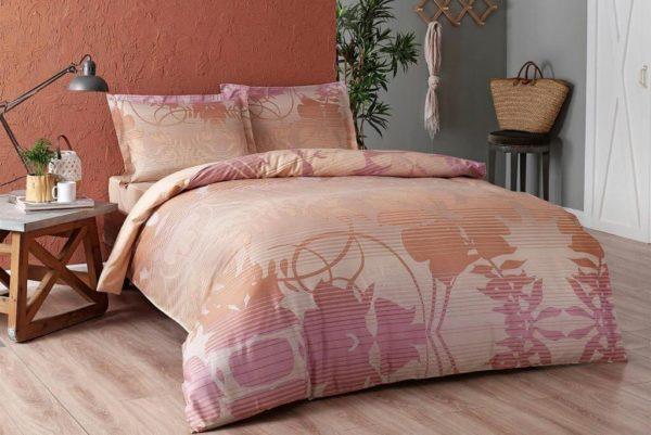 купить Постельное белье TAC Marian Pink Сатин Розовый фото