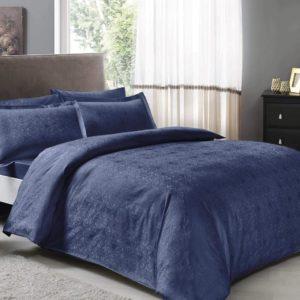 Постельное белье TAC Nodus Blue 200×220