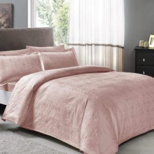 купить Постельное белье TAC Nodus Pudra Розовый фото