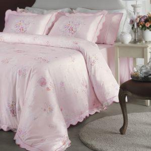 купить Постельное белье Valeron Madeline pembe Розовый фото