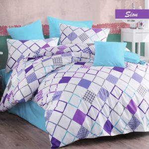 Постельное белье Zugo Home ранфорс Sion V4 200×220