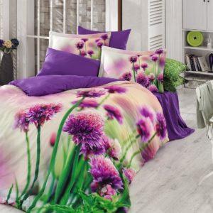 Постельное белье Zugo Home сатин Viola 200×220