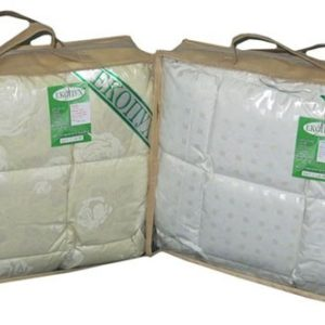 купить Детское одеяло Эко Пух Кремовый фото