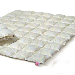 купить Одеяло Эко Пух - пух 50% перо 50% Кремовый фото