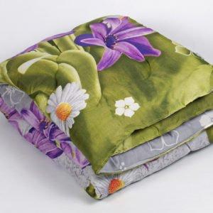 купить Одеяло Iris Home - Life Collection Flowers Зеленый фото