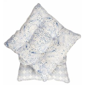 купить Подушки на стул Karaca Home - Riva (2017-1) (2 шт) Голубой фото