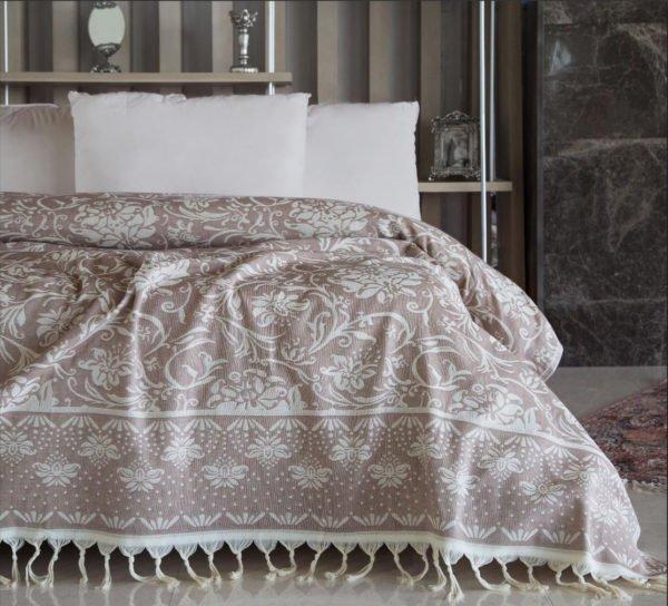 купить Покрывало Irya - Alisson beige Бежевый фото