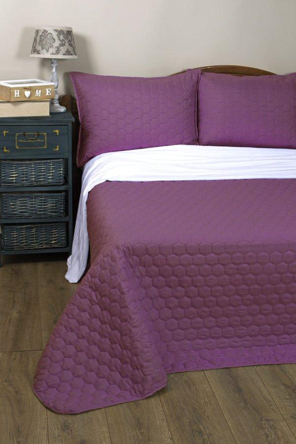 купить Покрывало Lotus Broadway - Comb фиолетовый Фиолетовый фото