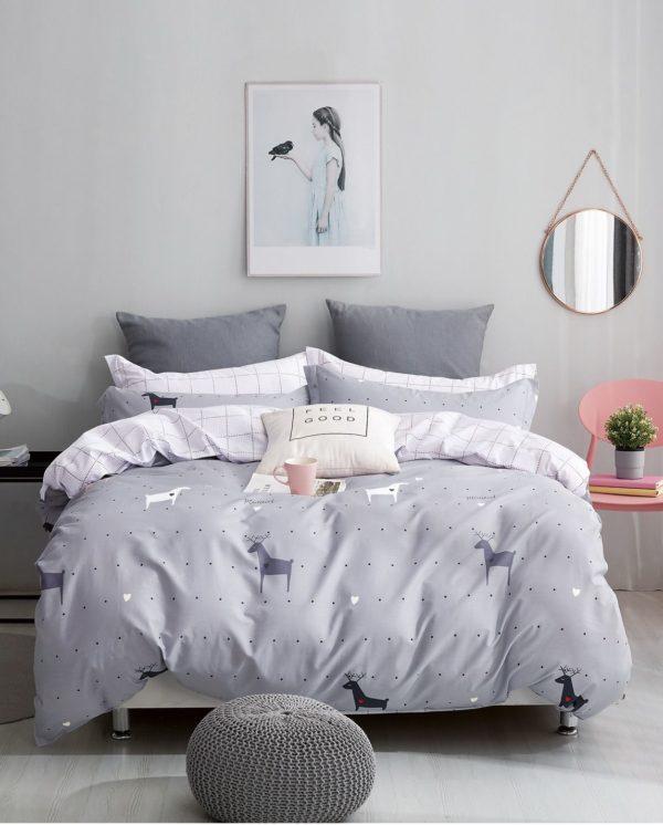 купить Постельное белье Bella Villa Сатин B-0205