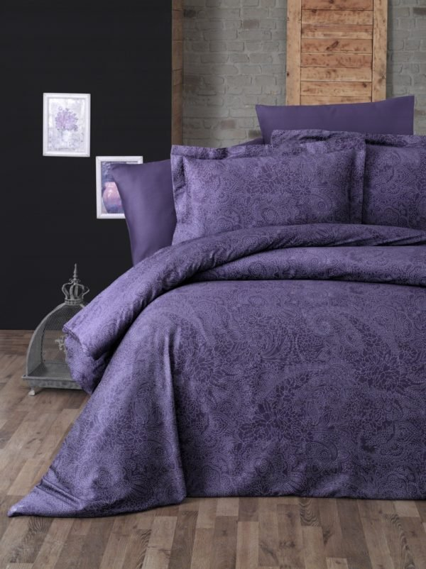 купить Постельное белье First Choice сатин люкс neva mor Фиолетовый фото
