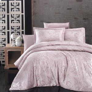 купить Постельное белье First Choice сатин люкс reagen pudra Розовый фото