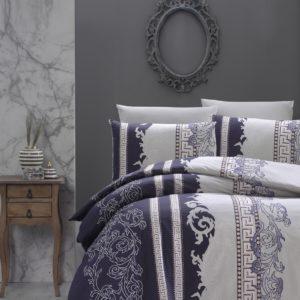 купить Постельное белье First Choice De Luxe ранфорс wals indigo Синий фото