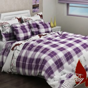 купить Постельное белье TAG R2068 violet Фиолетовый фото