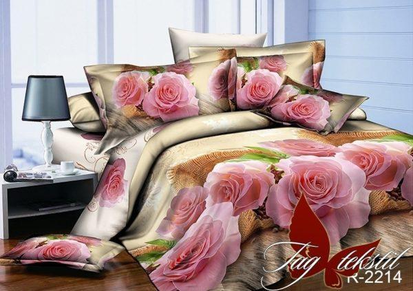 купить Постельное белье TAG R2214 Розовый фото