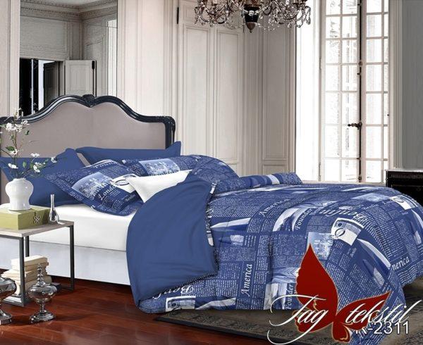купить Постельное белье TAG R2311 Синий фото