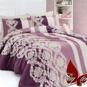 купить Постельное белье TAG R4048 Фиолетовый фото